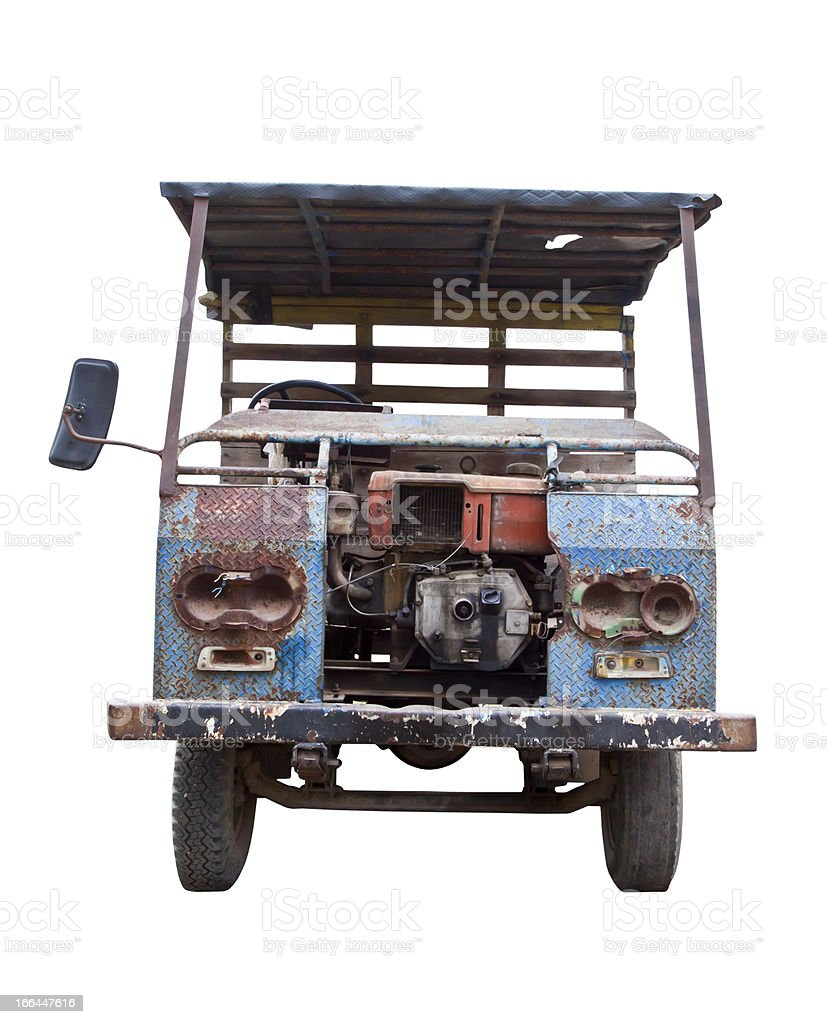 Old car. royalty-free stock photo