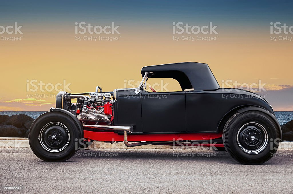 Old Car stock photo