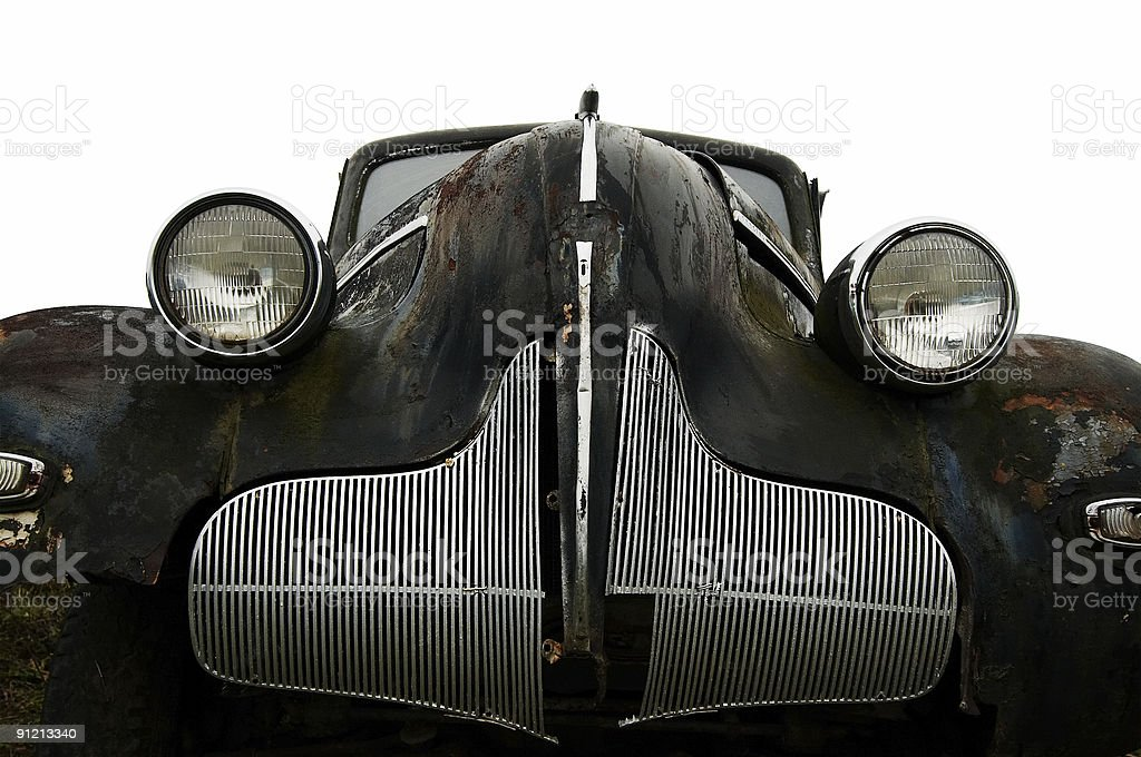 old car royalty-free stock photo