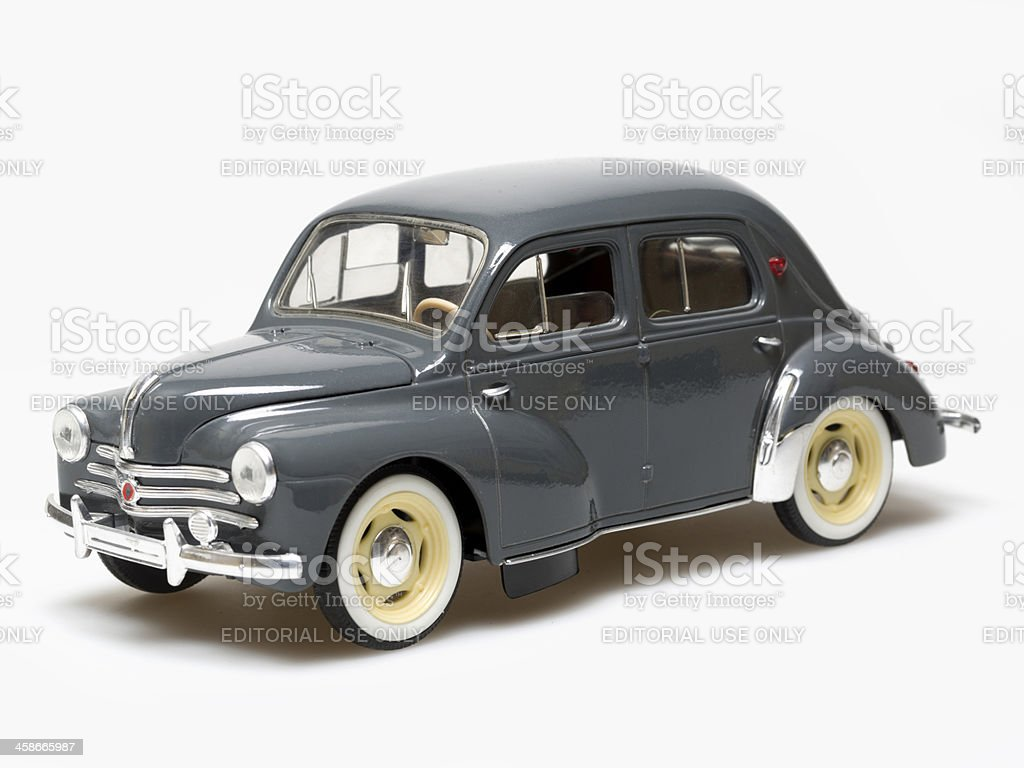 Old car, Renault  4 CV stock photo
