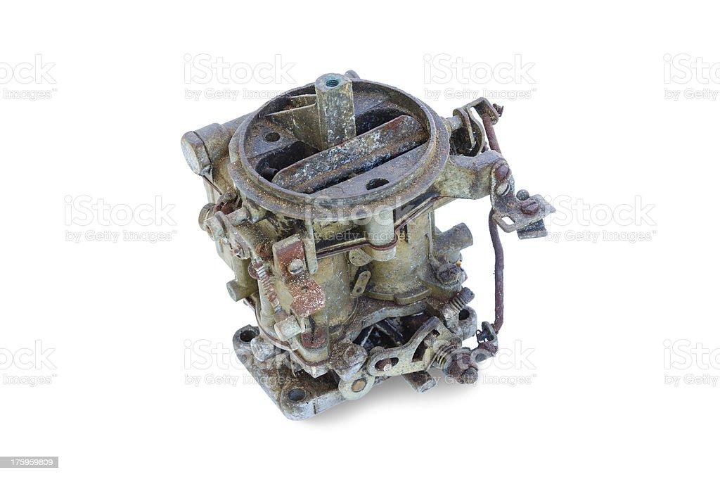 old carburetor royalty-free stock photo