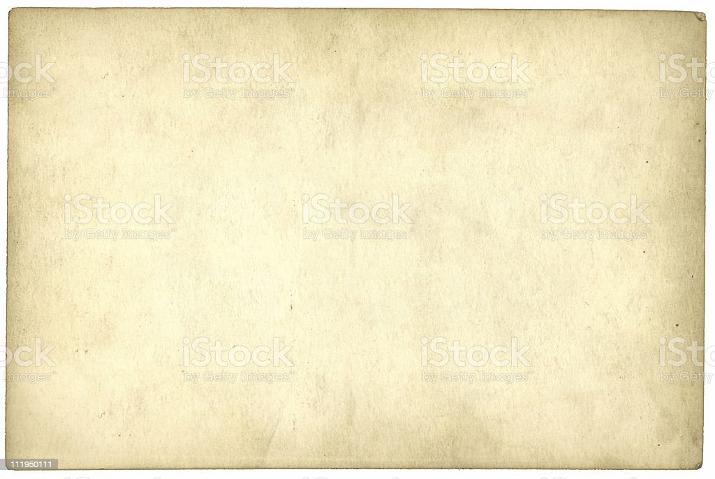 Old card stock photo