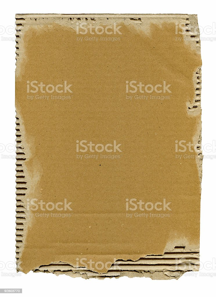 old cardboard background royalty-free stock photo