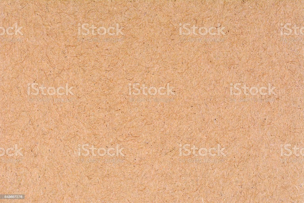 Old cardboard texture background, close up stock photo