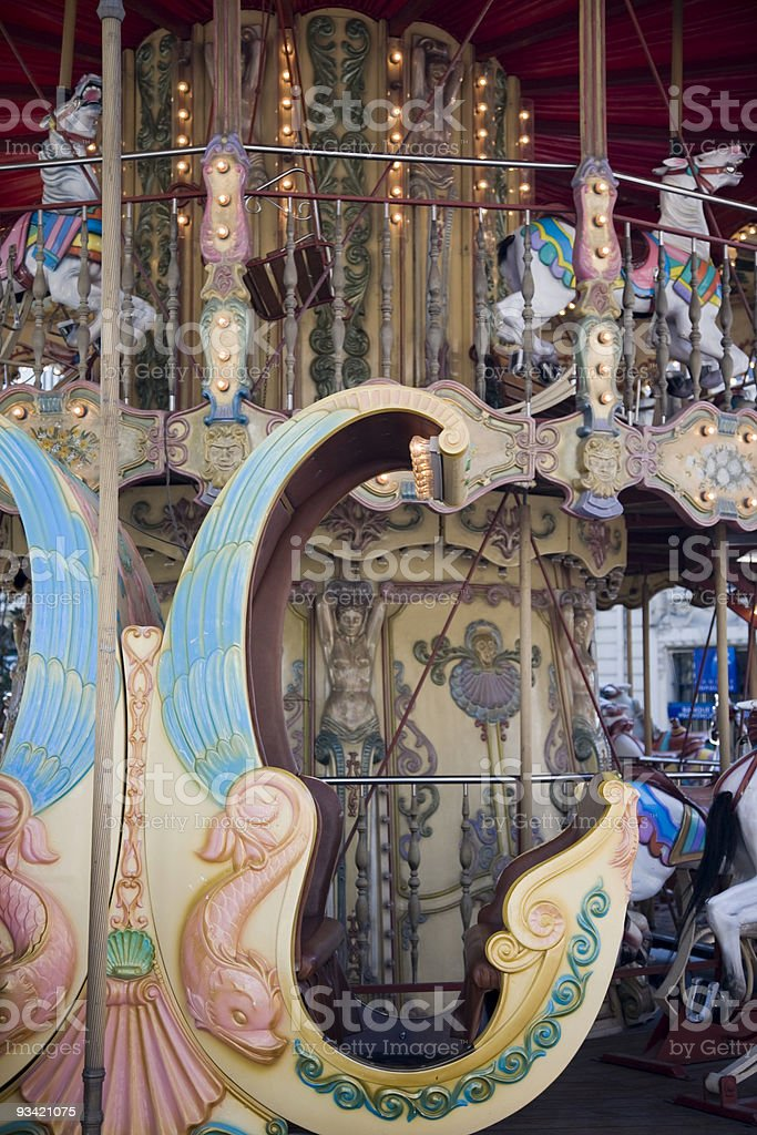 Old Carousel royalty-free stock photo