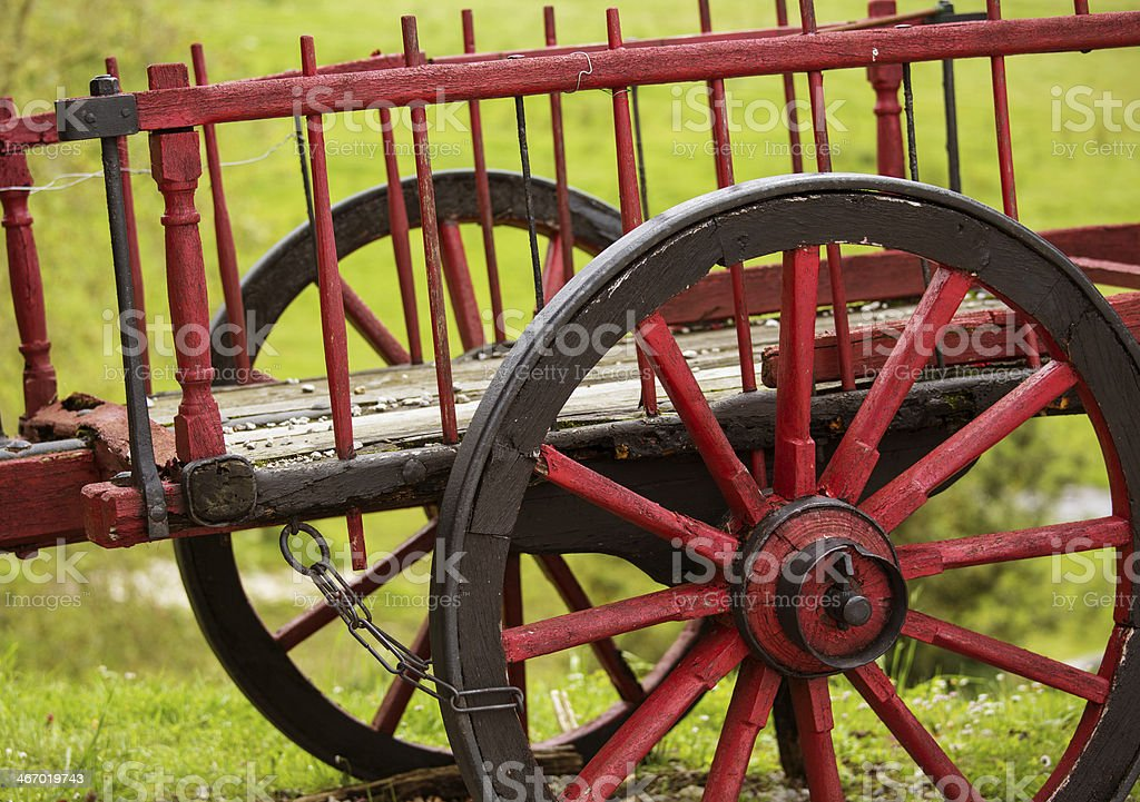 old carriage royalty-free stock photo