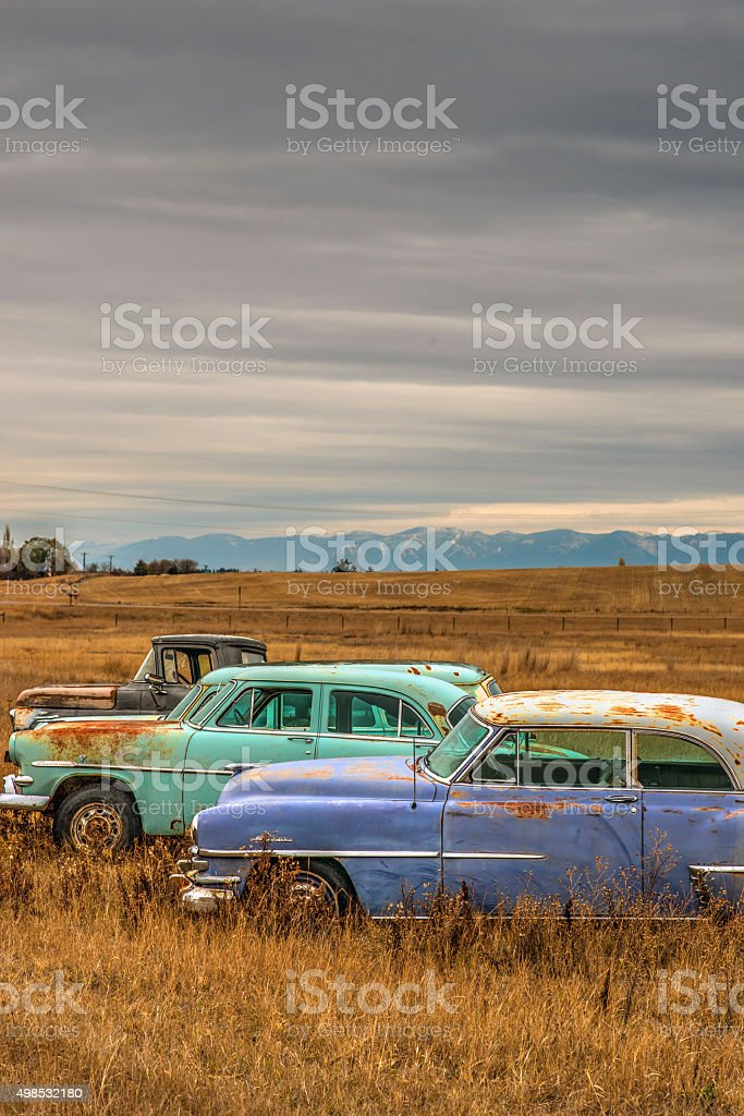 Old Cars stock photo