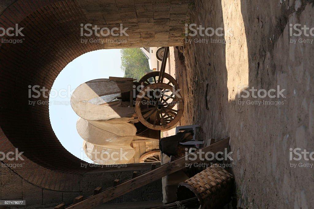 Old Cart stock photo
