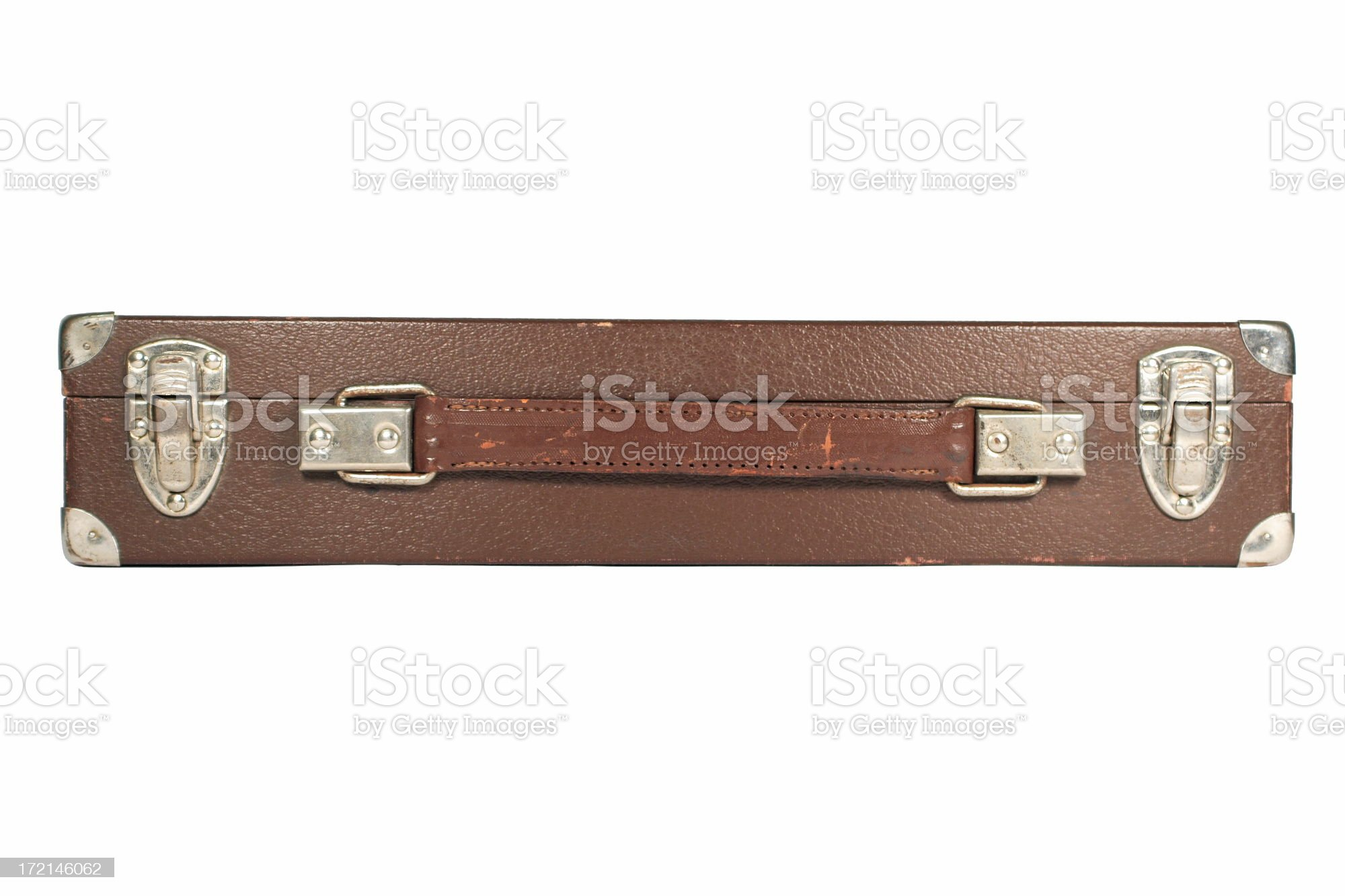 Old case, isolated on white royalty-free stock photo