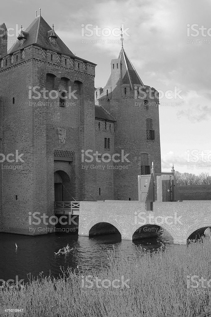 Old Castle in the Netherlands royalty-free stock photo