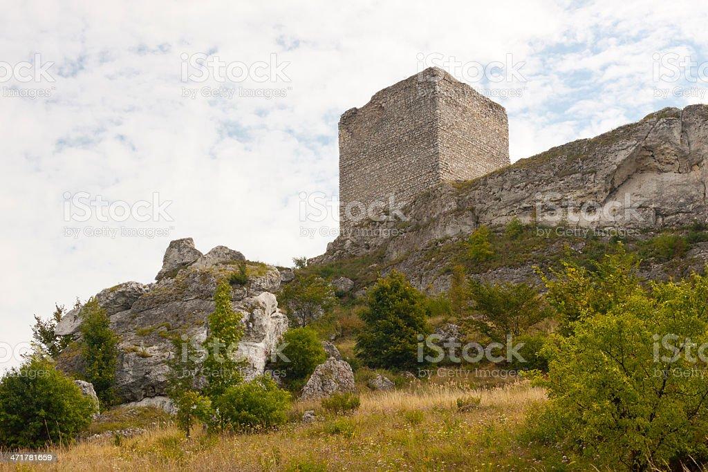Old castle - Jura region, Poland stock photo