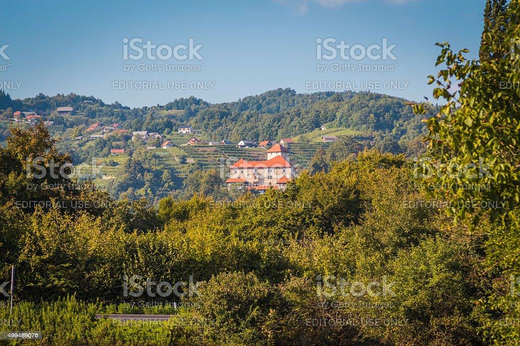 Old castle Otocec. stock photo