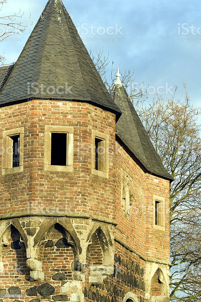 Old castle stock photo