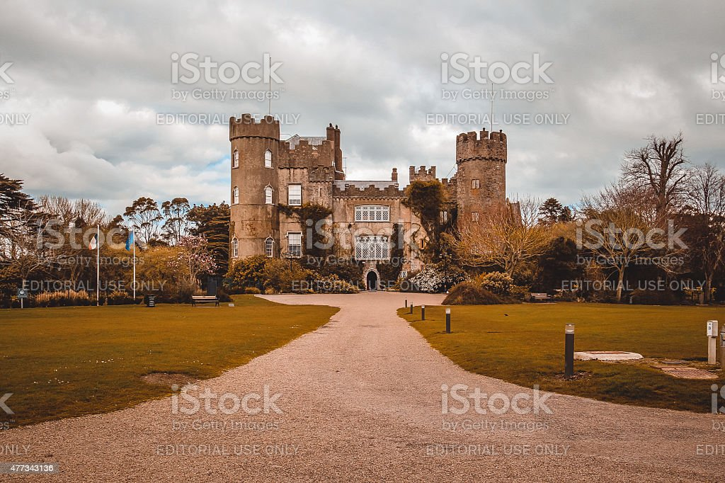 Old castle. stock photo