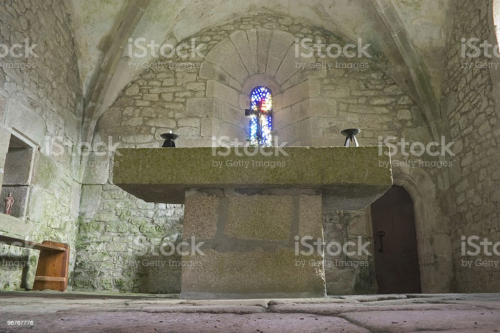 old catholic church stock photo
