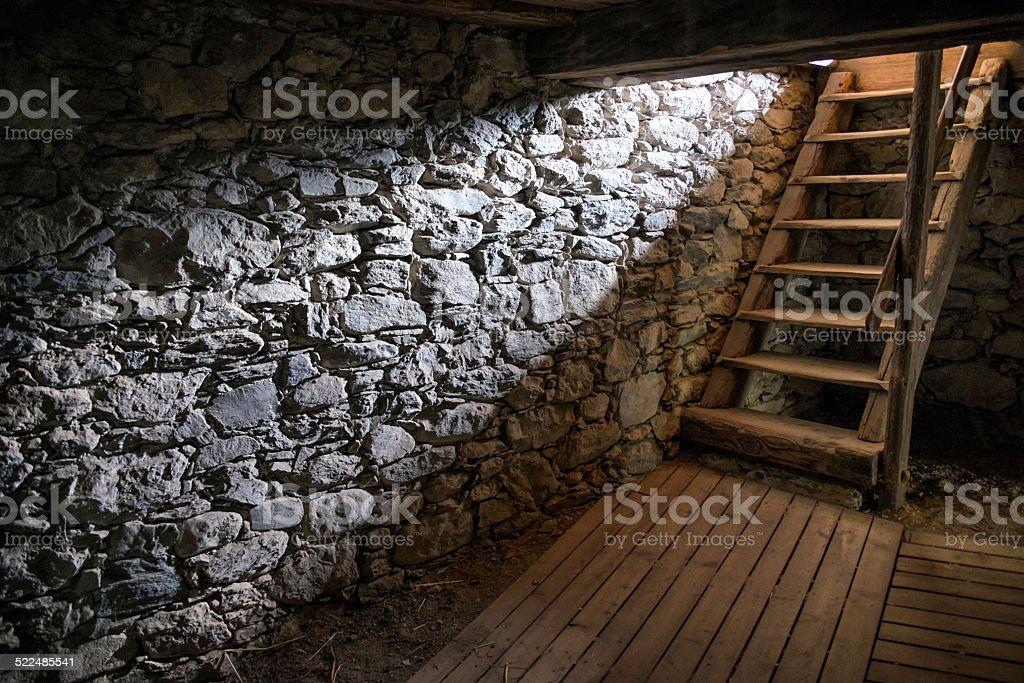old cellar stock photo