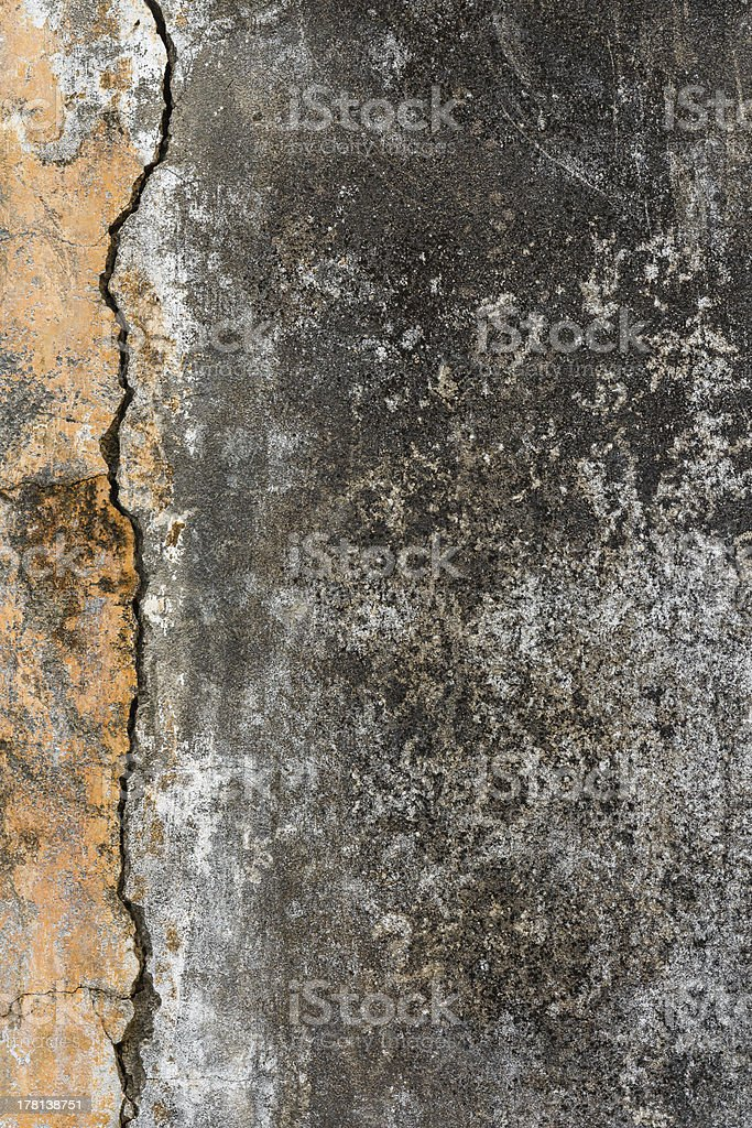 Old cement wall royalty-free stock photo