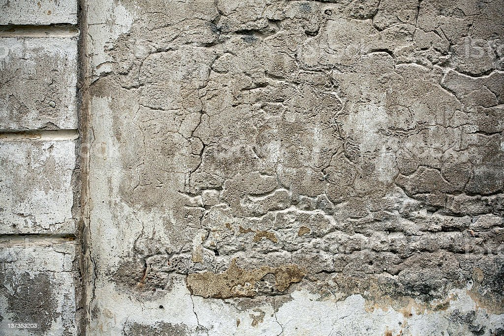 Old cement wall texture royalty-free stock photo