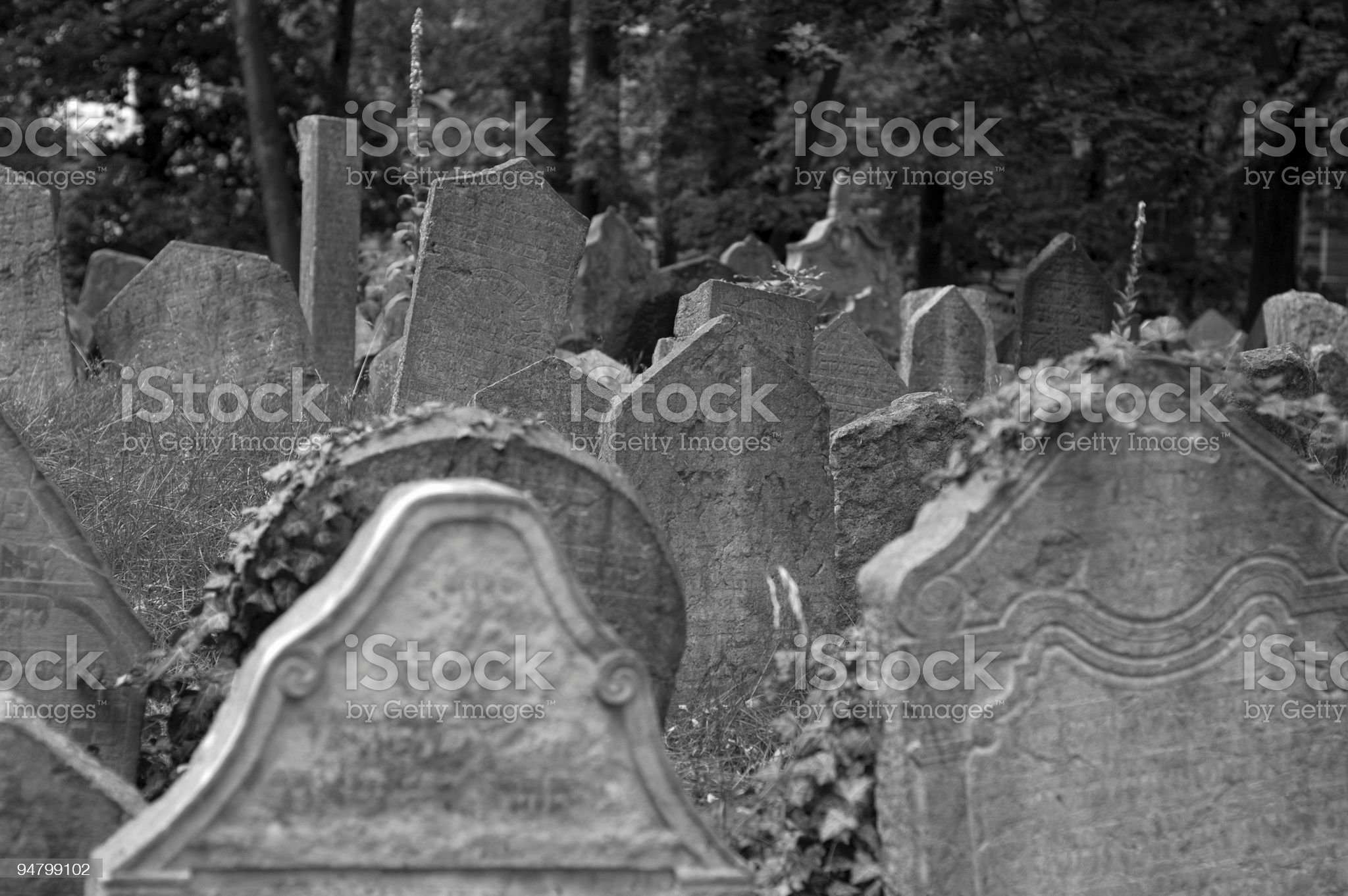 Old Cemetry royalty-free stock photo