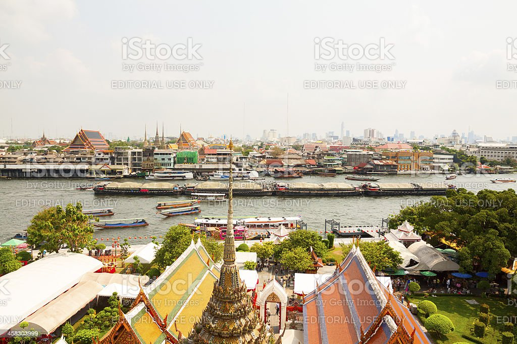 Old Center of Bangkok royalty-free stock photo