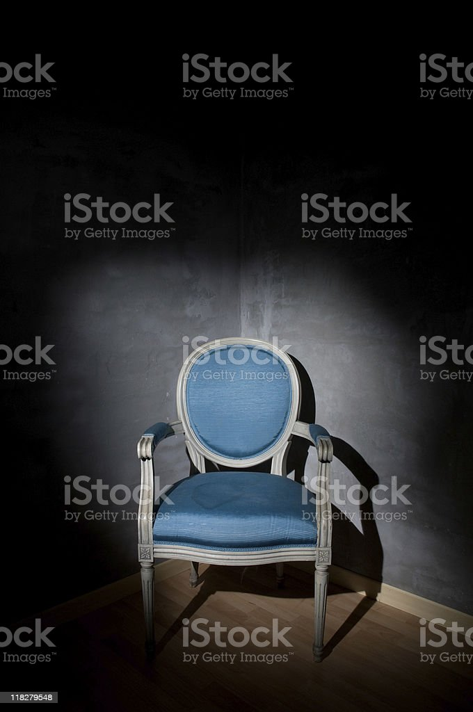 Old Chair stock photo