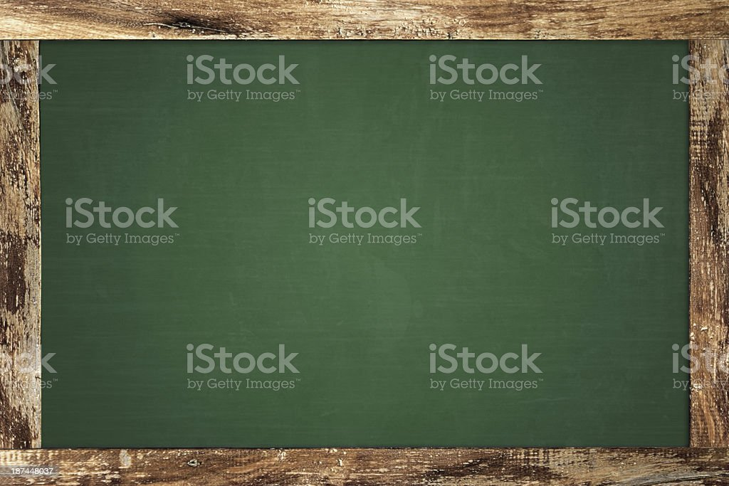 Old Chalkboard stock photo