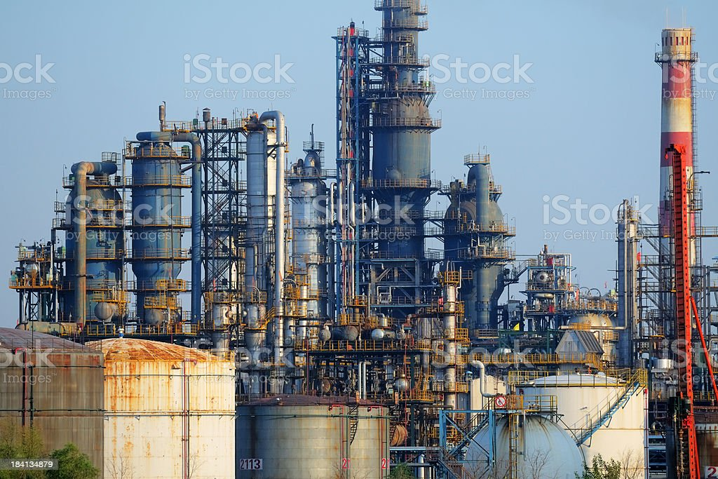 Old Chemical Plant - XLarge royalty-free stock photo
