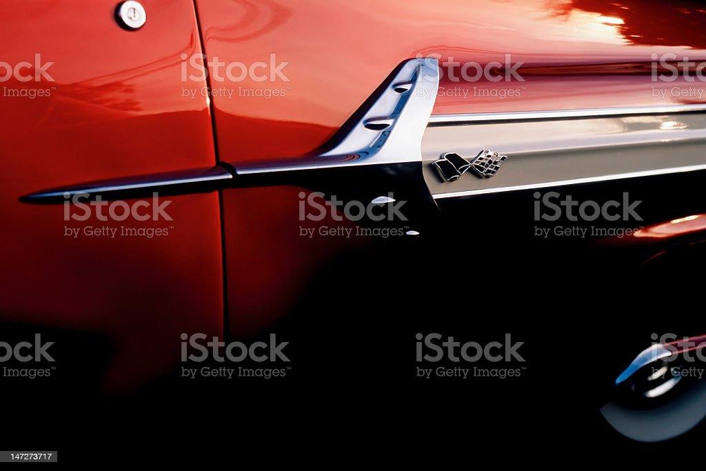 Old Chevrolet Impala stock photo