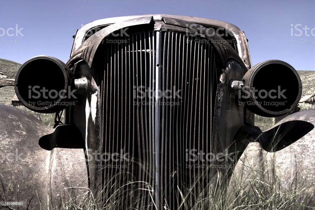 Old Chevy Front royalty-free stock photo