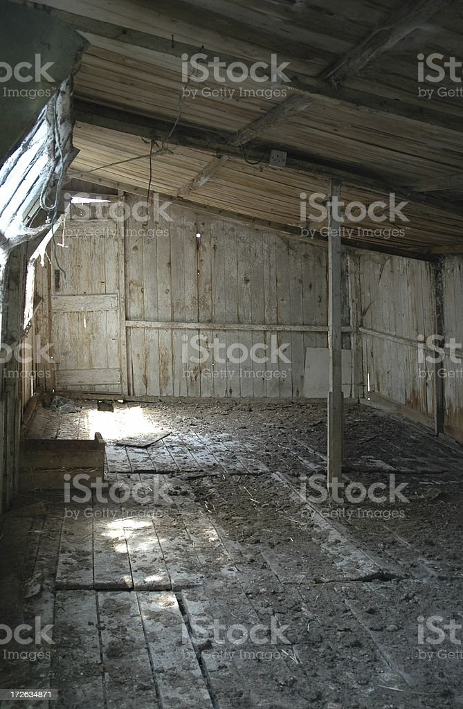 Old Chicken House royalty-free stock photo