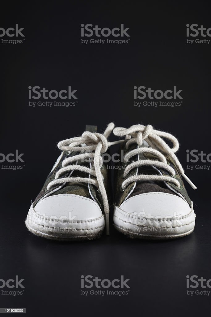 old children shoes. royalty-free stock photo