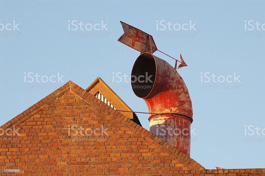 old chimney stock photo
