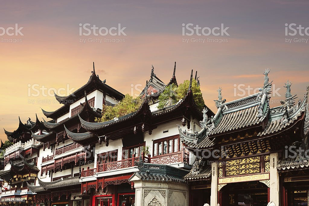 Old Chinese Architecture stock photo