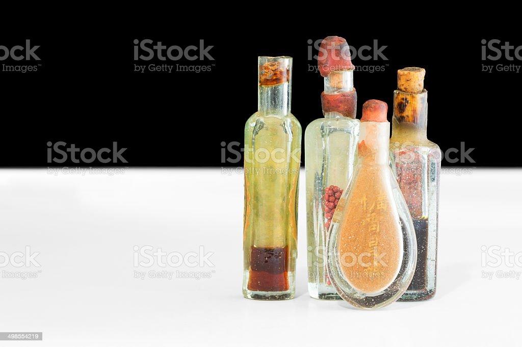 Alte chinesische Heilmittel Lizenzfreies stock-foto