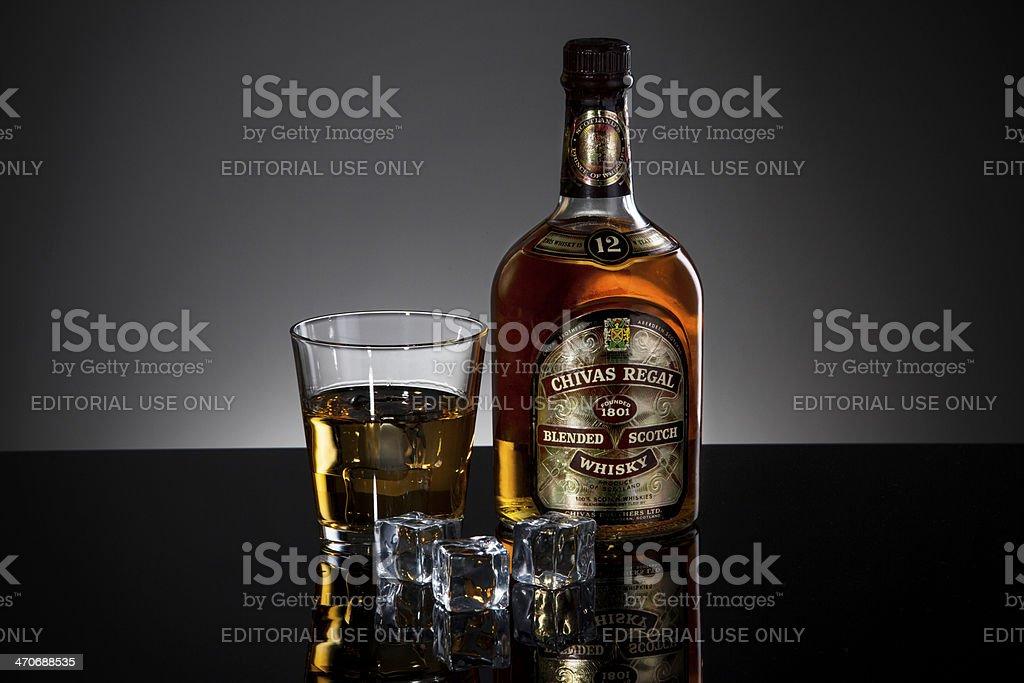 Old Chivas Regal Whisky stock photo