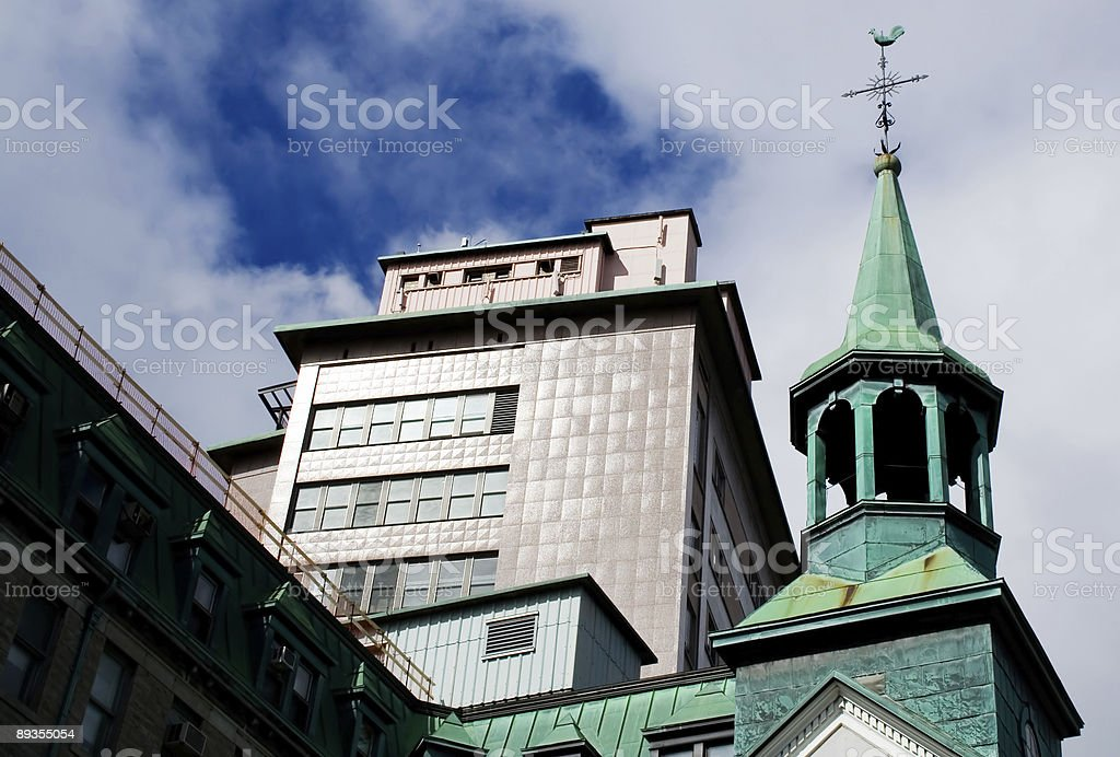 Old Church and Hospital royalty-free stock photo
