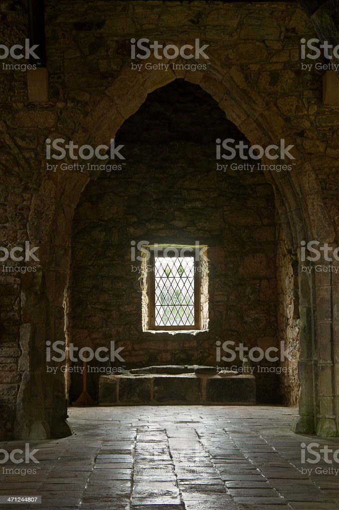 Old Church and tomb royalty-free stock photo