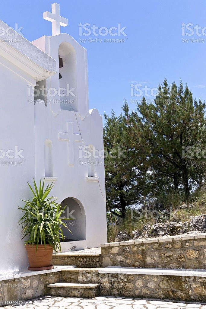 Old church bell santorini greece royalty-free stock photo