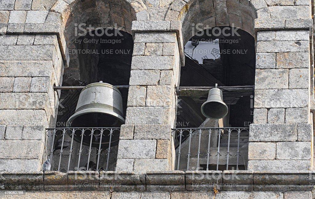 Antiga Igreja bells foto royalty-free