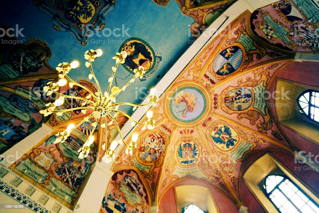 Old Church Ceilings royalty-free stock photo