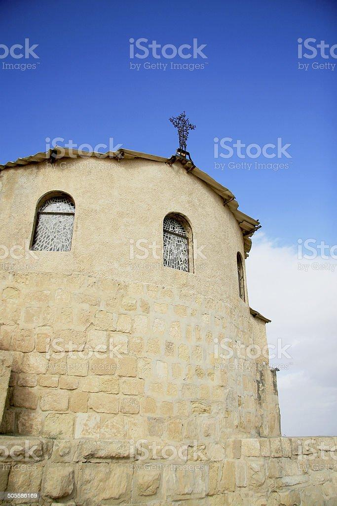 Old church in Jordan stock photo