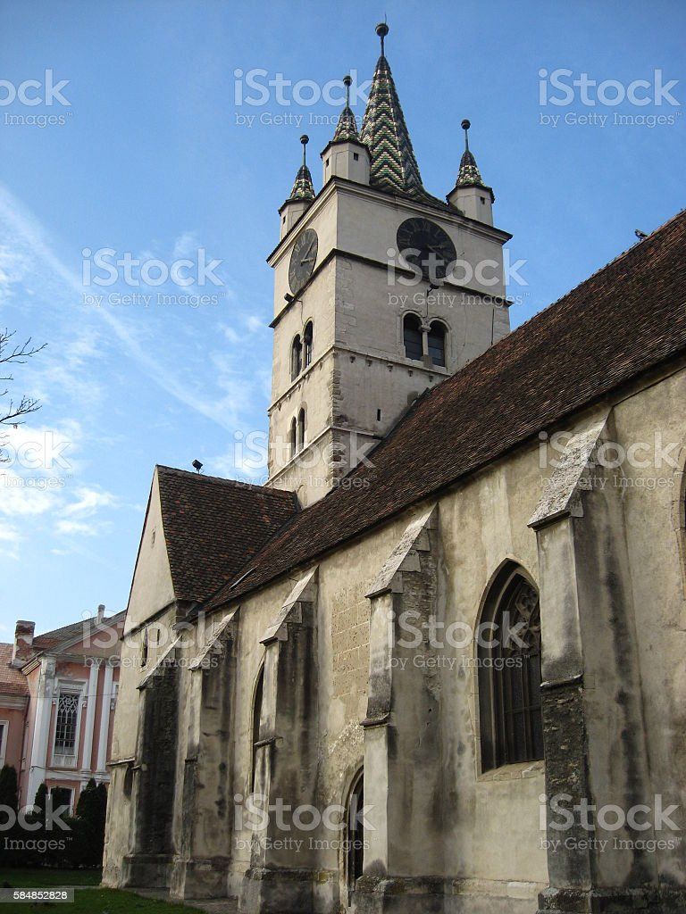 Old church in Romania – Trasylvania 5 stock photo