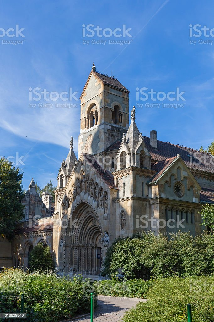 Old church or chapel.  cathedral. stock photo