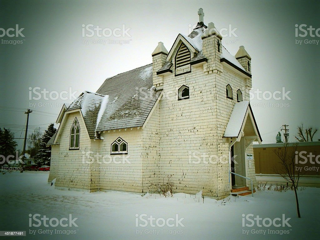Old Church Photo royalty-free stock photo