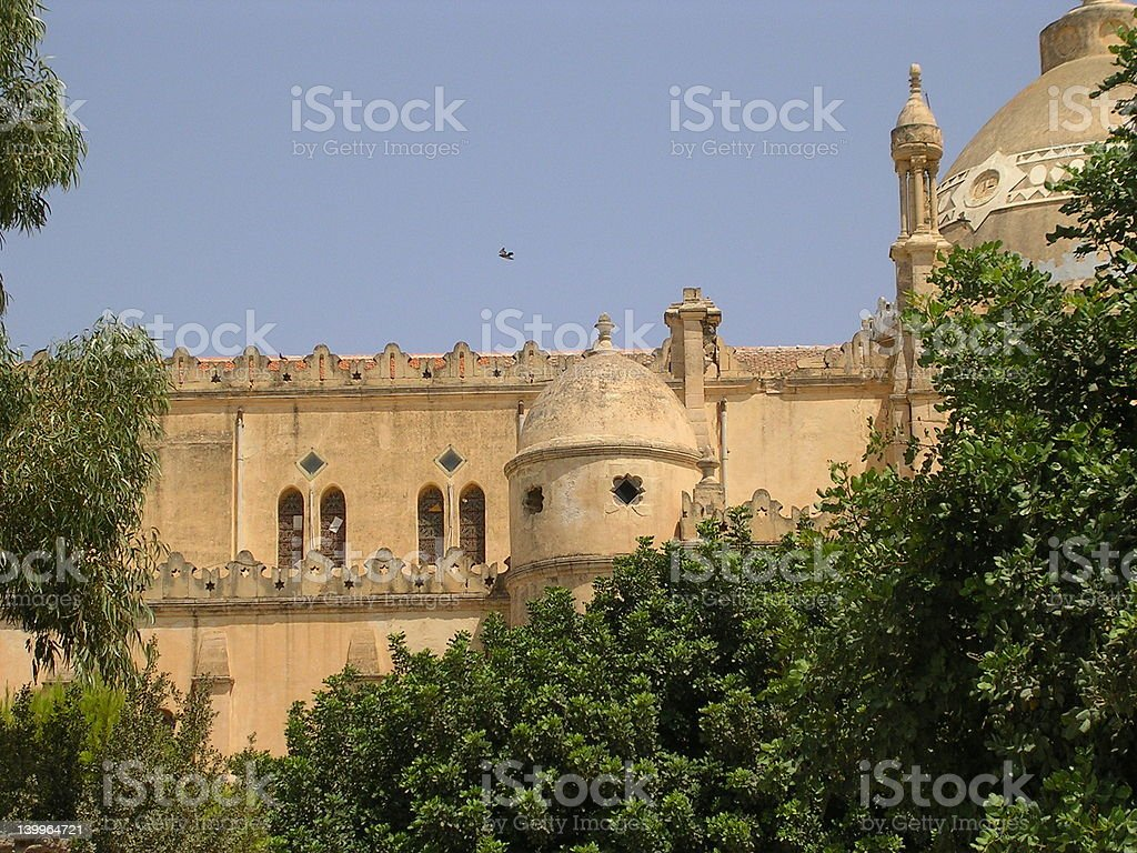 Old Church. royalty-free stock photo