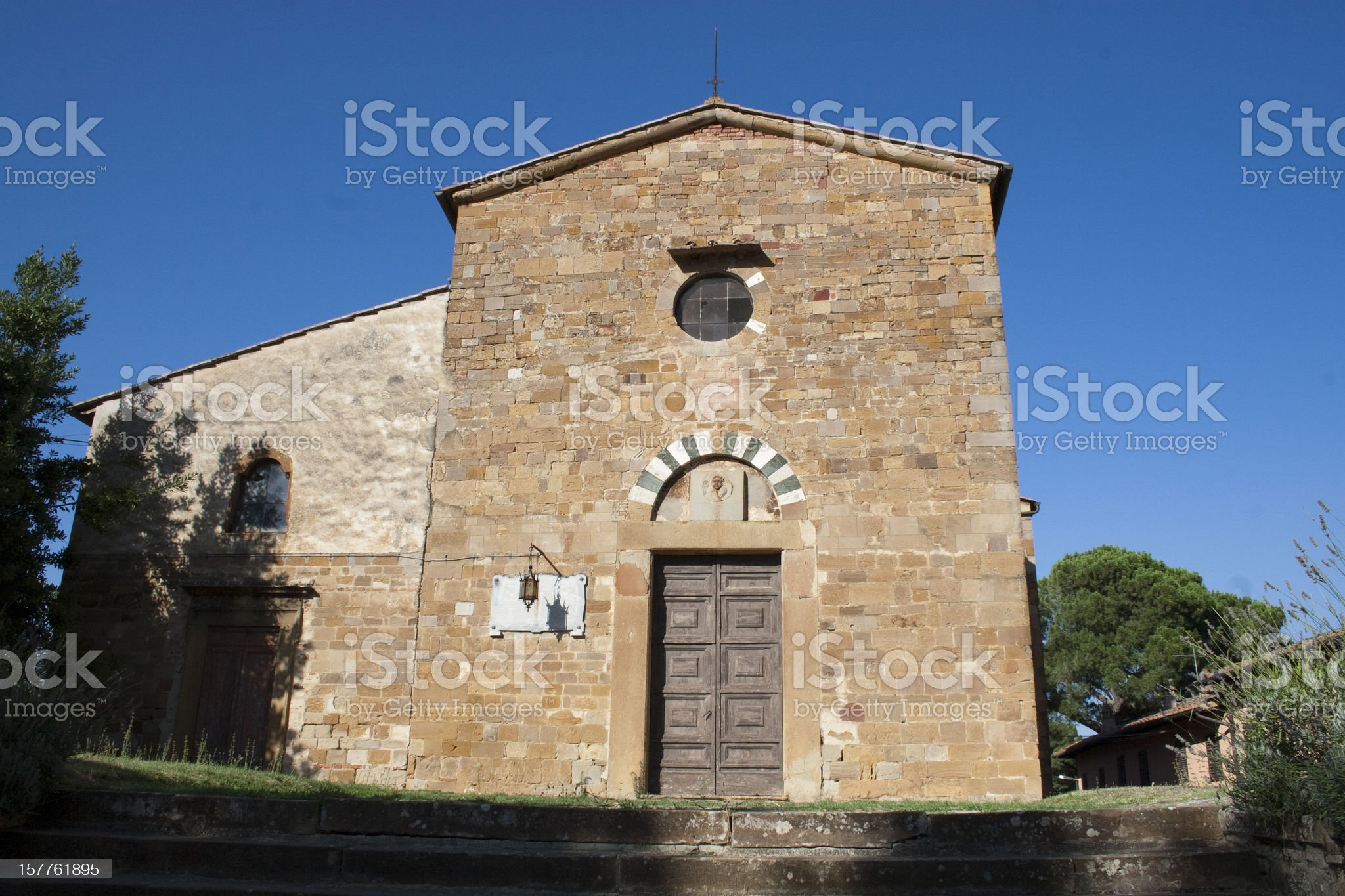 Old church royalty-free stock photo
