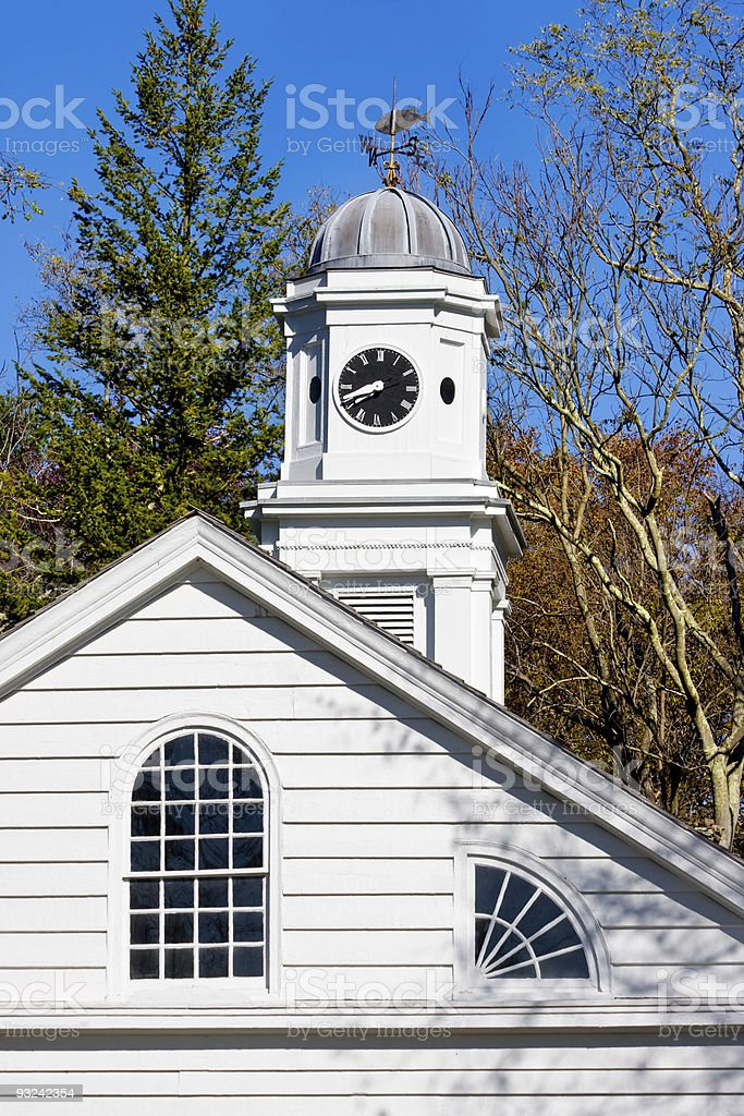 Old Church stock photo