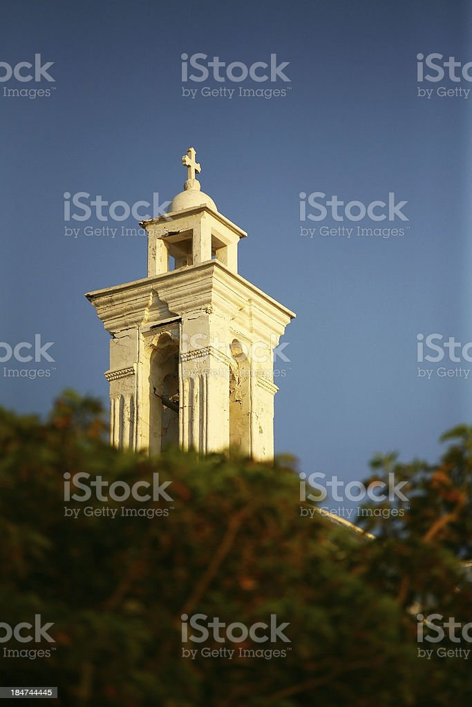 Old Church Steeple royalty-free stock photo