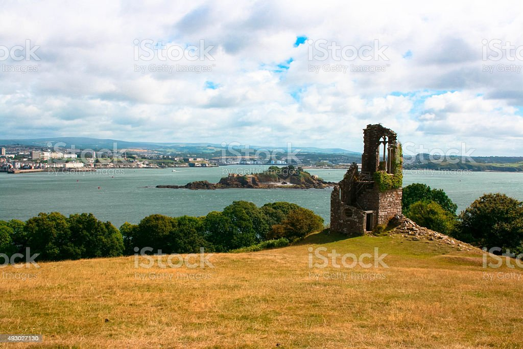 Old church, timeless view stock photo