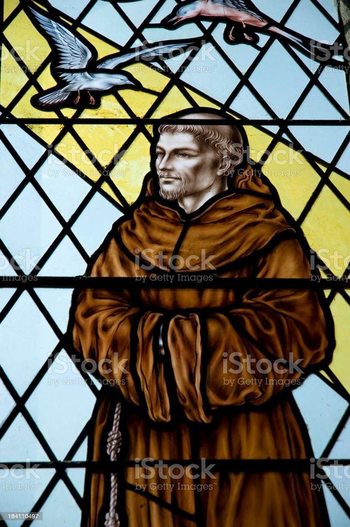 Old Church Window royalty-free stock photo